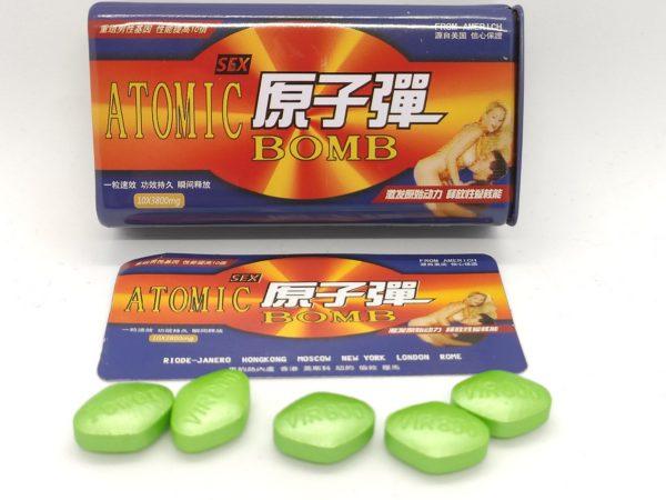 Атомная бомба таблетки для потенциии