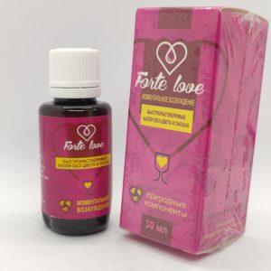 Forte Love збудник
