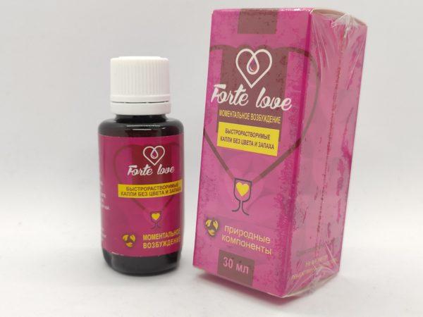 Forte Love возбудитель
